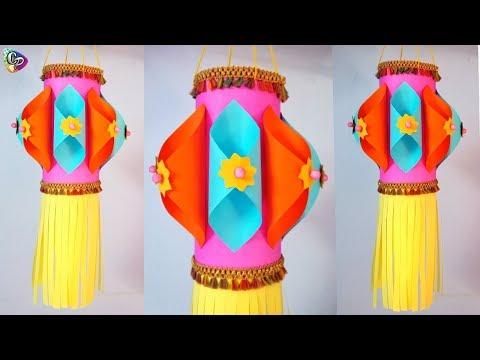 Diwali Decoration Ideas   Paper Lamp   Christmas decoration   Paper craft