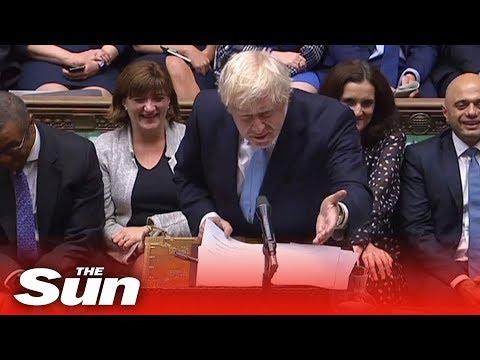 Boris Johnson slammed