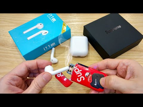 i11 TWS AirPods Review + Supreme Plasma Lighter = My Last Video 😱😲