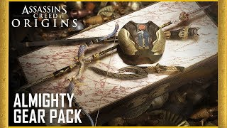 Assassin's Creed Origins: Almighty Gear Pack | Trailer | Ubisoft [NA] thumbnail