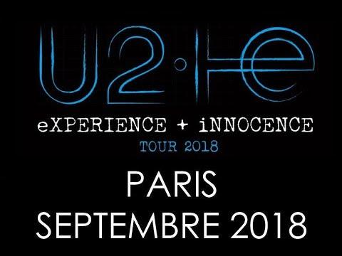U2 - One Live 4K @ AccorHotels Arena Paris France 8 Septembre 2018