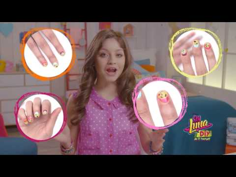 Soy Luna Tuto | Art Des Ongles | Disney Channel BE