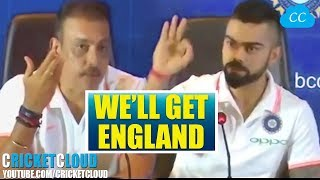 Virat Kohli & Ravi Shastri's Strategies for England Tour !!