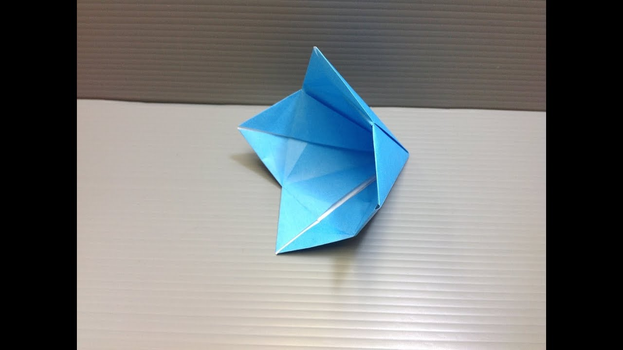 Daily origami 069 bell flower youtube mightylinksfo