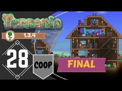 VENGANZA! - 28 FINAL - Terraria 1.3.4 - COOP  A 3 - Español