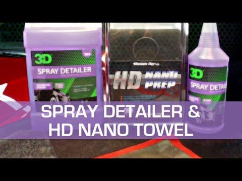 SPRAY DETAILER and HD NANO TOWEL clay Alternative