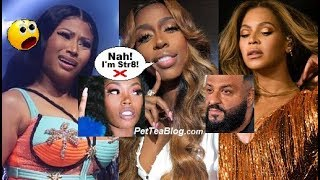 Kash Doll Declines Nicki Minaj Invite to talk Asian Beef, BEYONCE letting her OPEN