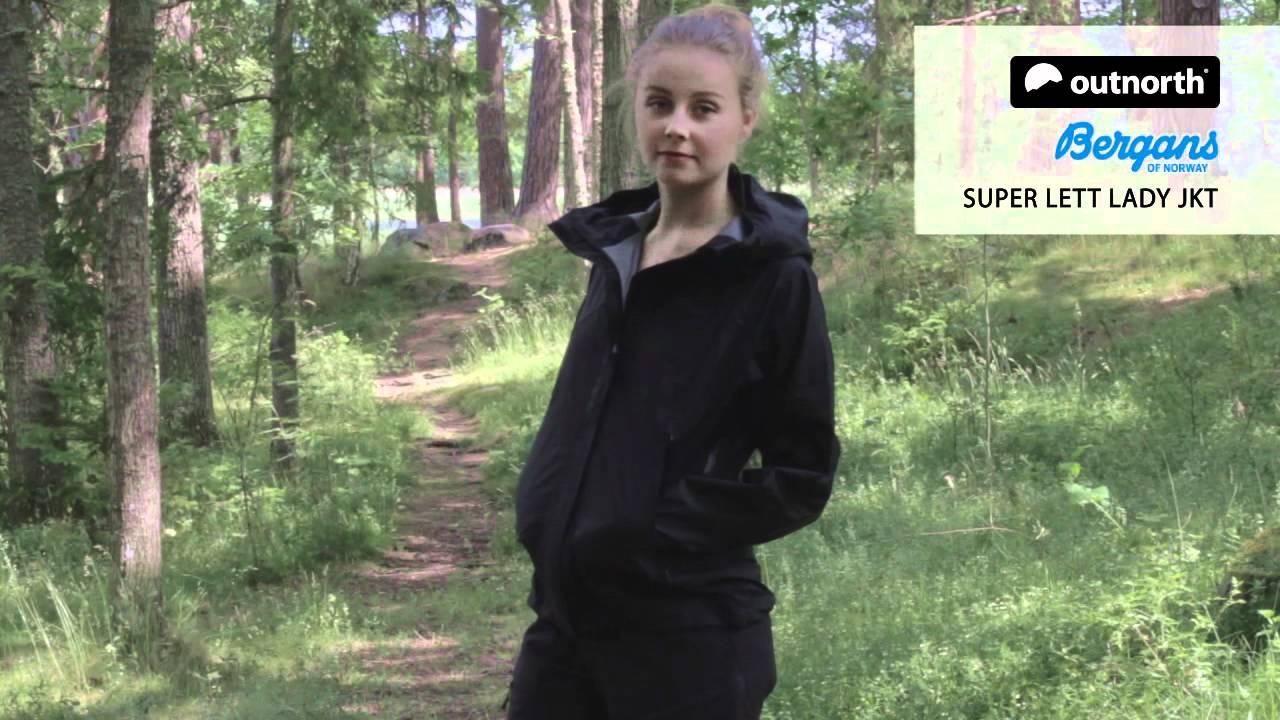 Bergans Damen Jacke Super Lett Lady