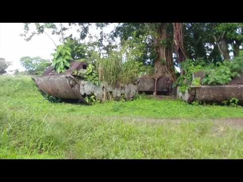 27 Tetere Beach World War II  Tank Museum in Solomon Islands