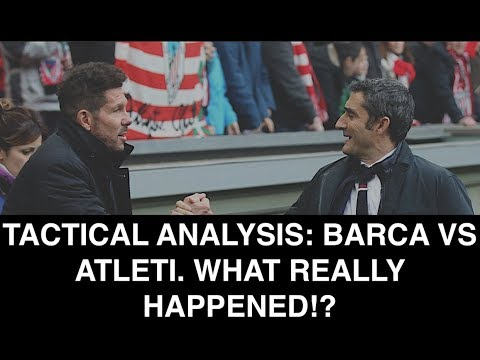 Mediocre Barca or simply just efficient? TACTICAL REVIEW: FC Barcelona 1-0 Atletico de Madrid