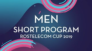 LIVE 🔴 | Men Short Program | Rostelecom Cup 2019 | #GPFigure