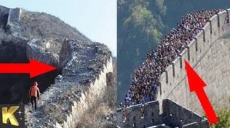 KHÁM PHÁ | Bí Ẩn Rùng Rợn Dưới Bức Tường Vạn Lý Trường Thành Ở Trung Quốc