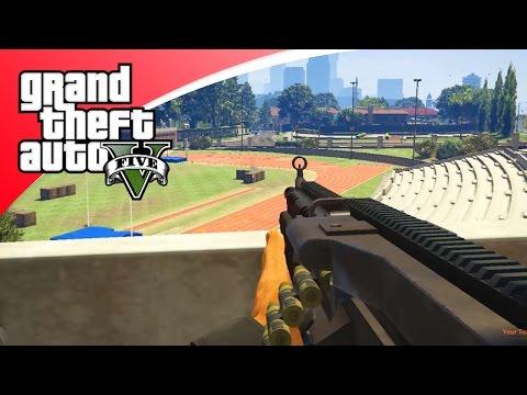 GTA V Online - MOEILIJK POTJE GUN GAME! (GTA 5 Funny Jobs)