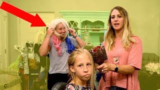 ✂️Back To School Makeovers! Exchange student wants Pink Hair!