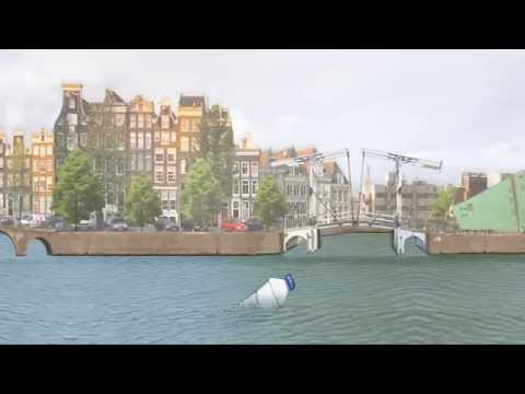 Mapping Plastic Waste in the canals of Amsterdam