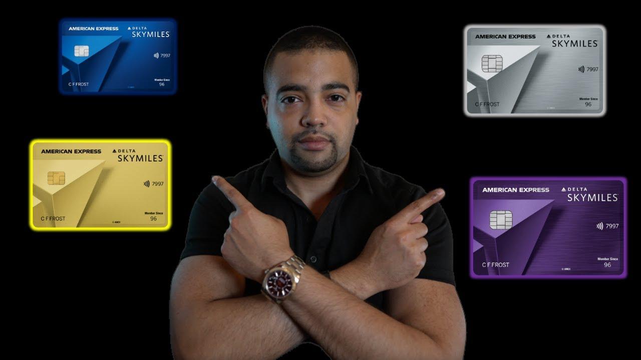 Download Amex Delta Sky Miles Cards - Gold, Platinum, & Reserve