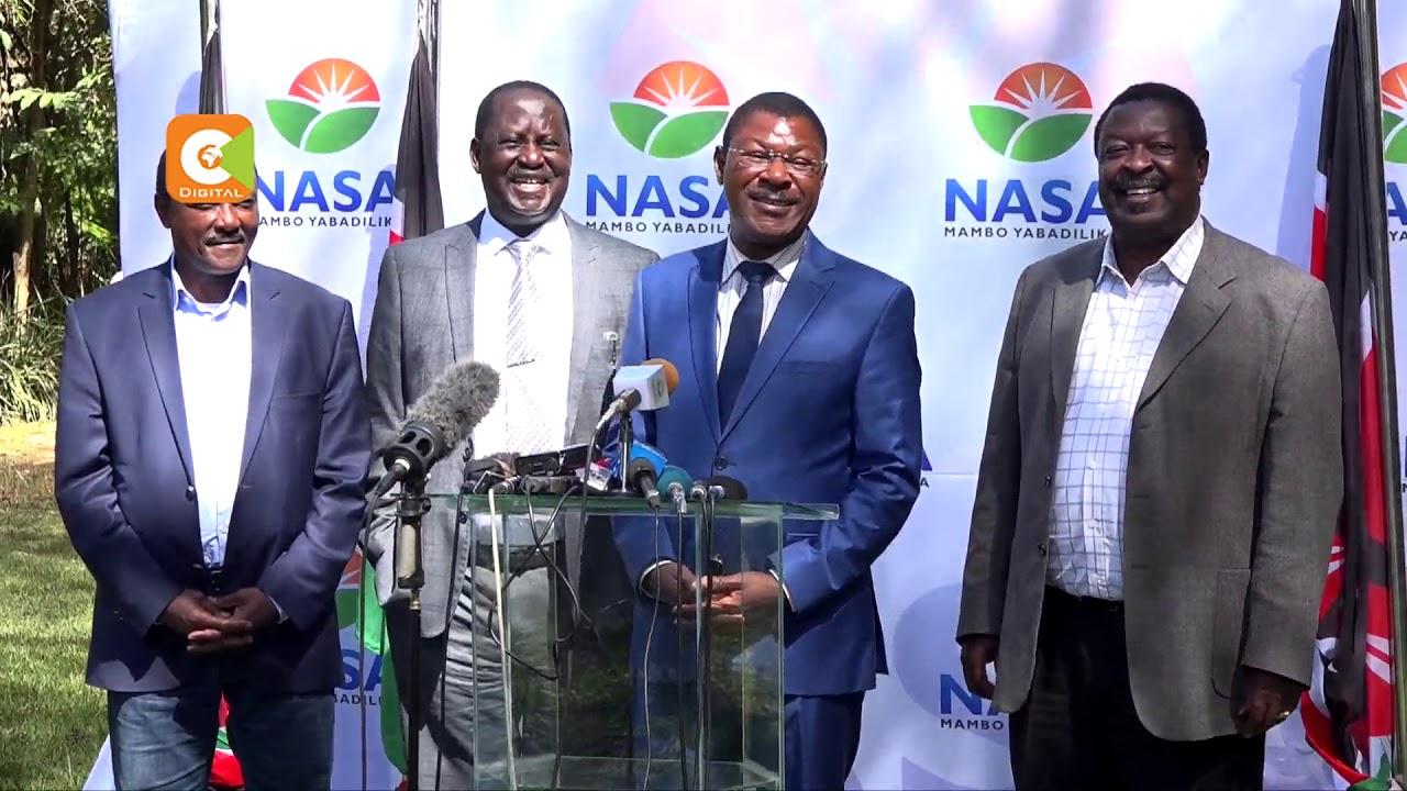 Mudavadi terms deal between Kenyatta, Odinga selfish