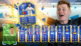 THE BEST TOTS FUT DRAFT REWARD PACKS!!! FIFA 16 Pack Opening