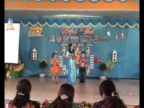 Thi ATGT Trường Mầm Non I TP Hà Tĩnh - P.3