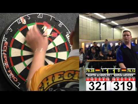 DDV Iserlohn Open 2015 - Finale Herren: Martin Schindler vs. Marvin Wehder