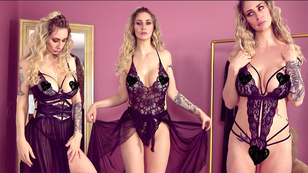 Incredibly Sexy and Sheer Lingerie Haul! OMG!! These make my boobs look amazing!! 😍💋