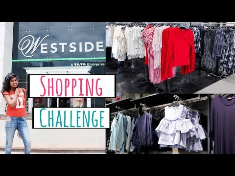 Rs 1000 Shopping Challenge - Westside Store Shopping Tour Haul | AdityIyer #adityvlogs