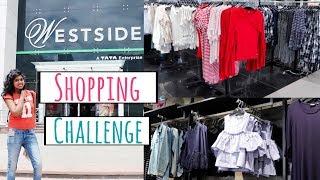 Rs 1000 Shopping Challenge - Westside Store Shopping Tour Haul   AdityIyer #adityvlogs
