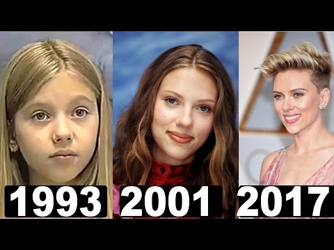 Scarlett Johansson beauty changes (From 1993 To 2017)