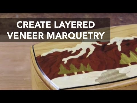 How to Create Layered Veneer Marquetry