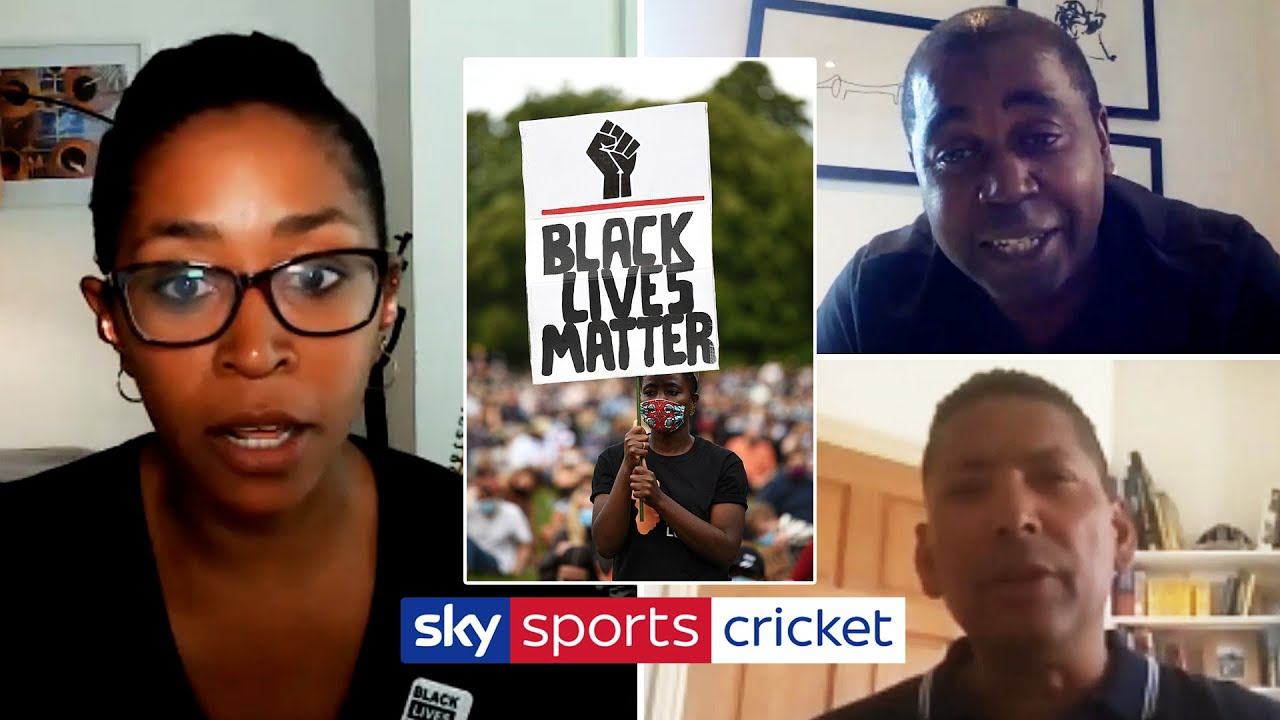 DeFreitas, Rainford-Brent and Alleyne discuss BLM & how cricket can re-engage with black communities