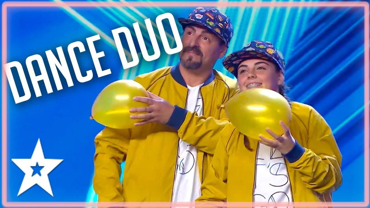 TOP Father/Daughter Dance Duo on Spain's Got Talent 2020 | Kids Got Talent