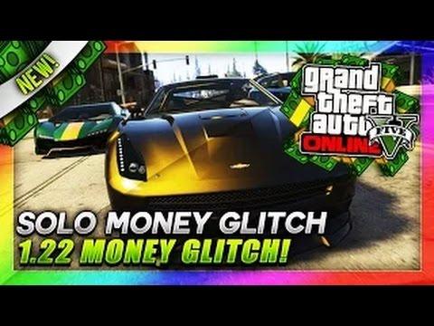 Money glitch solo unlimited money glitch after patch 1 22 gta v