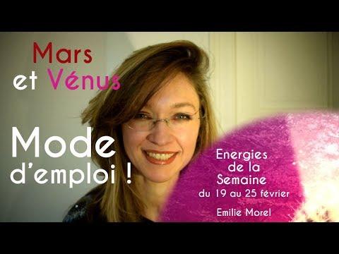 Energies de la semaine du 19 au 25 février : Mars...