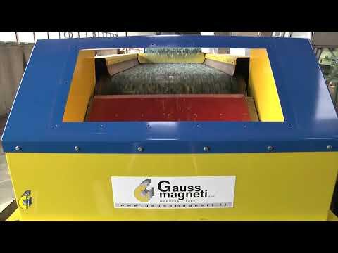 Gauss Magneti Eccentric Eddy Current Separator