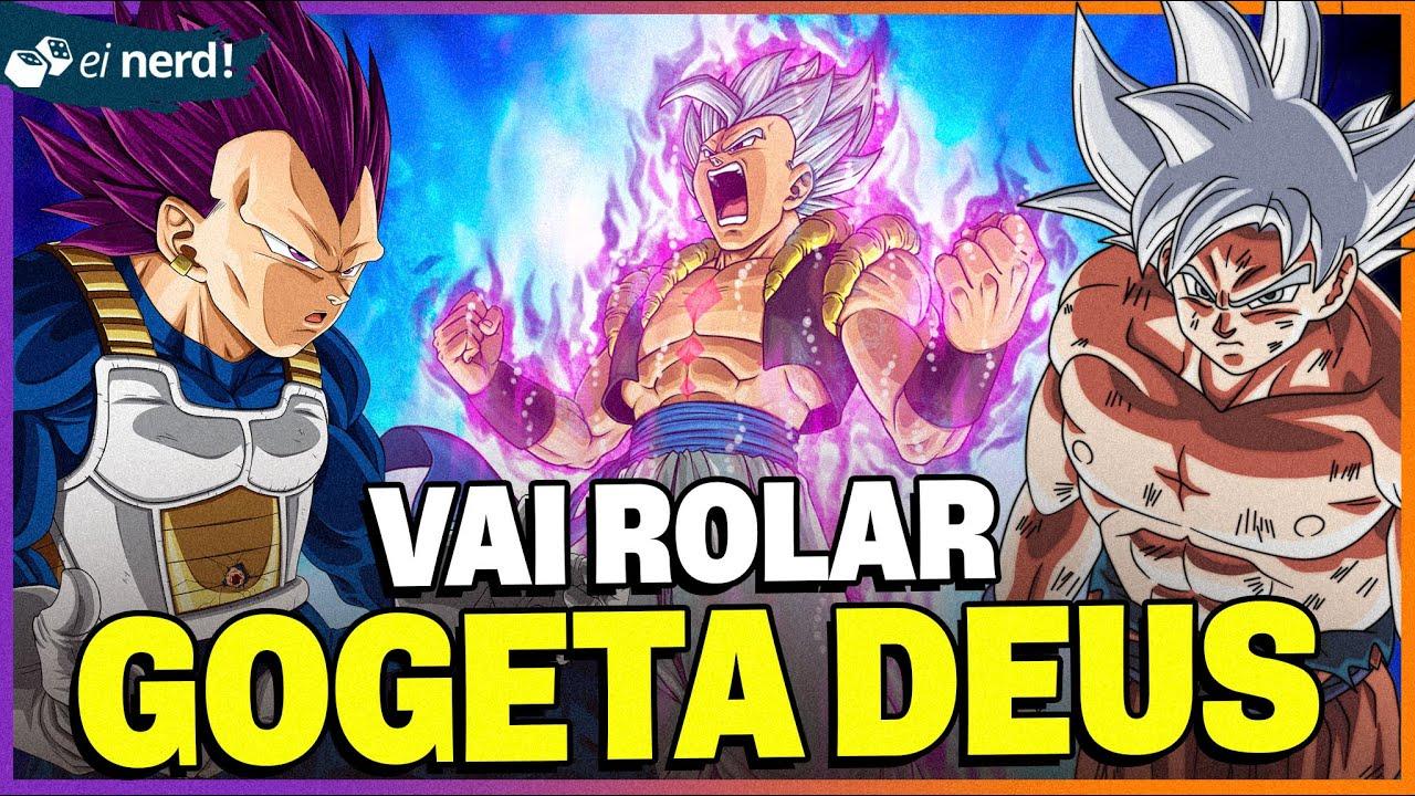 GOGETA VAI LUTAR CONTRA O GRANOLLA [Fusão Goku e Vegeta] #Teoria