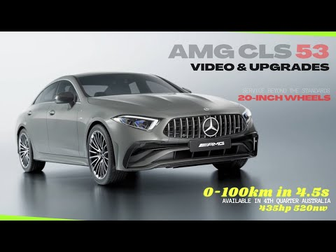 2022 Mercedes-AMG CLS 53 4MATIC+ Video & Specific Upgrades