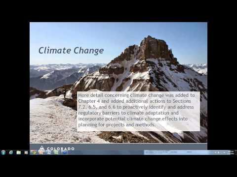 Webinar on Colorado's Water Plan - July 2015