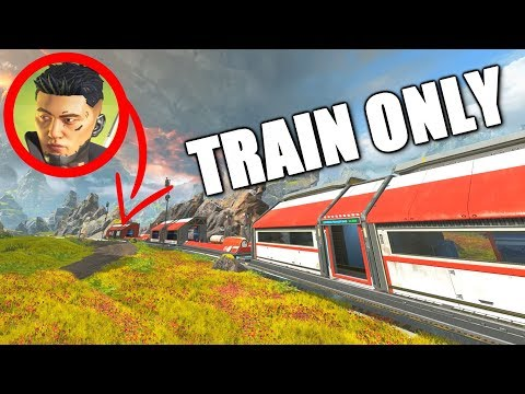 THE BEST TRAIN MOMENTS IN APEX LEGENDS!