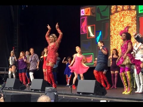 WEST END LIVE 2016   Kinky Boots - 'Raise You Up / Just Be'