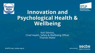 Innovation and Psychological Health & Wellbeing - IFLP