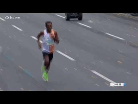 BMW BERLIN-MARATHON 2019 -  World Record Is Missed By 2 Seconds By Kenenisa Bekele