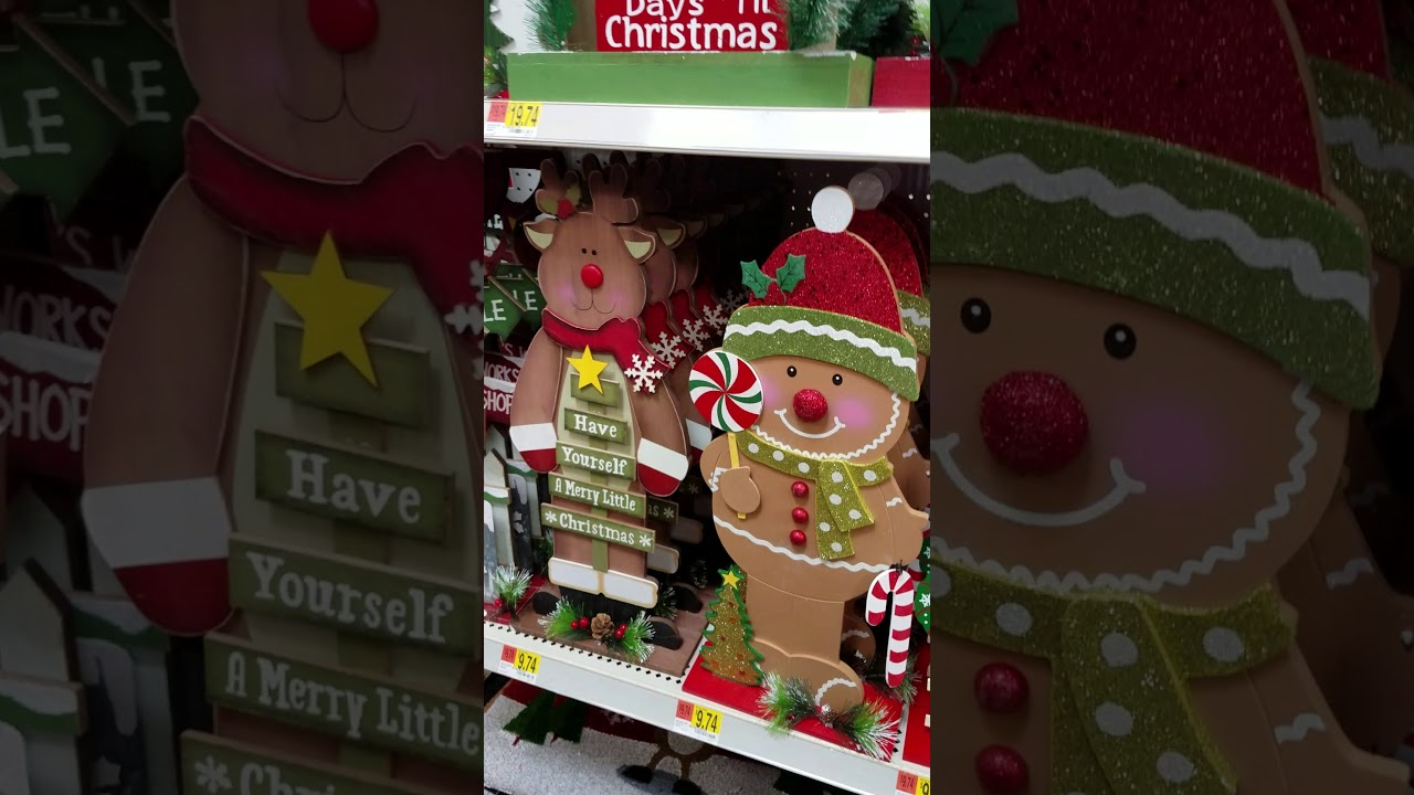 Walmart Christmas aisle walk through!!! October 18, 2017 - YouTube