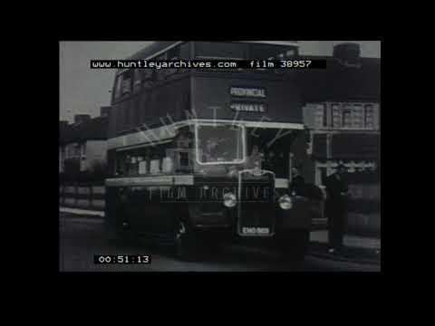 Gosport and Fareham Tour 1950s, Film - 38957