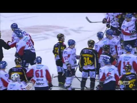 Krefeld Pinguine - Adler Mannheim 16.09.2016 Szenen nach dem Spiel