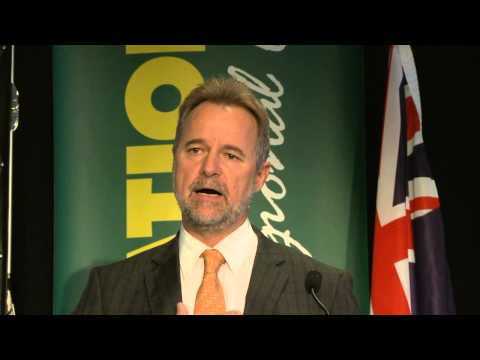Deputy Leader of The Nationals, Senator The Hon. Nigel Scullion  - 2013 Federal Council Address