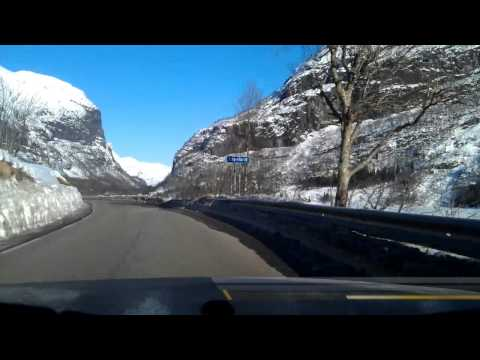 Driving in Norway: Voss - Ulvik