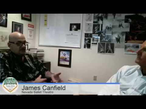 Ciao Tutti talks with James Canfield of the Nevada Ballet Theatre
