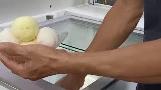 Cách làm kem xôi, kem xôi thuyền, ice cream rất Việt Nam