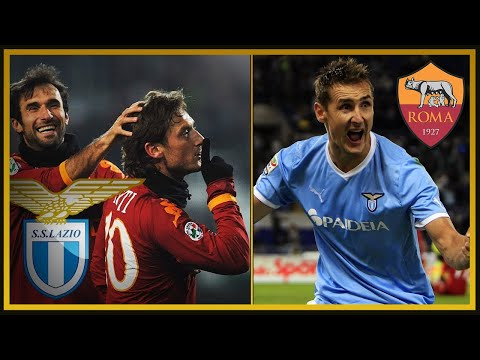 Derby Roma vs Lazio 2006-2013 (ft. Piccinini, Caressa, Compagnoni)