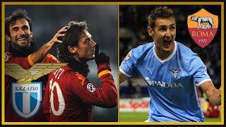 Derby Roma vs Lazio 2006-2013 (ft. Piccinini, Caressa, Compagnoni) streaming